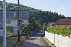 En las calles de Polyana Imagen de archivo libre de regalías