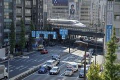 En las calles de Tokio Fotografía de archivo libre de regalías