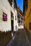 En las calles de Toledo fotografía de archivo