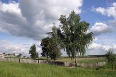 En las cercanías del pueblo Fotografía de archivo
