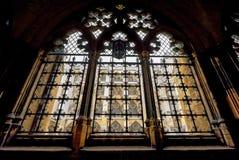 En las galerías de la abadía de Westminster Fotos de archivo libres de regalías