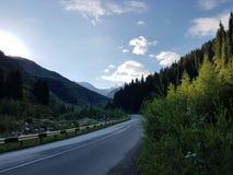 En las montañas Imagen de archivo