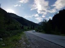 En las montañas Fotos de archivo libres de regalías