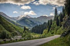 En las montañas Foto de archivo libre de regalías