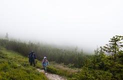 En las montañas Fotografía de archivo libre de regalías