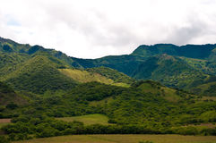 En las montañas de Nicaragua Foto de archivo