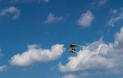 En las nubes Imagen de archivo