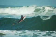 En las ondas Fotos de archivo