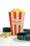 En las películas Imagen de archivo libre de regalías