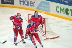 En las puertas de CSKA Foto de archivo libre de regalías