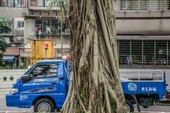 En lastbil som kan ` t vara rörd Royaltyfria Foton
