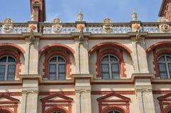 En Laye de St Germain, França - podem 2 2016: molde velho histórico Imagem de Stock Royalty Free