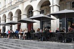 En Laye St Germain, Франция - 12-ое июня 2016: живописный старый c Стоковое Изображение