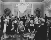 En lek av rouletten arkivbilder