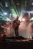 En levande konsert av den daniele silvestrien Arkivfoto