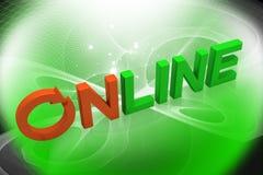En ligne Photos stock