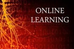 En ligne apprenant Image libre de droits