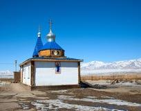 En liten ortodoxkyrka Arkivbild