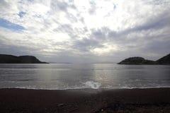 En liten sjösidastad Turgutreis Royaltyfria Foton