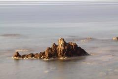 En liten sjösidastad Turgutreis Royaltyfri Bild