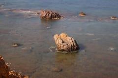 En liten sjösidastad Turgutreis Arkivfoton