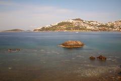 En liten sjösidastad Turgutreis Royaltyfri Foto
