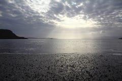 En liten sjösidastad Turgutreis Arkivbilder