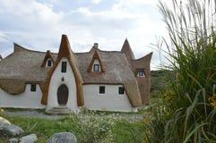 En liten slott Arkivfoto