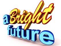 En ljus framtid royaltyfri illustrationer