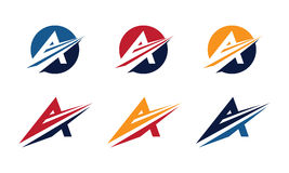 En Logo Template Arkivfoto