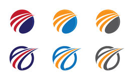 En Logo Template Royaltyfri Fotografi
