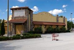 Nedgång - restaurang Royaltyfria Foton