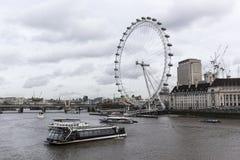 En London cityscape royaltyfria foton