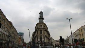En London gata Fotografering för Bildbyråer