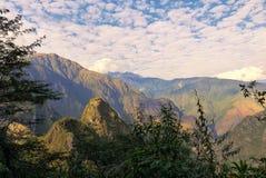 En los altos Andes cerca de Machu Picchu Fotografía de archivo libre de regalías