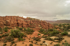 En los arcos parque nacional, Utah foto de archivo libre de regalías