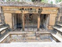 En los cuartos antiguos de Fiton de las épocas en Sri Lanka Imagen de archivo libre de regalías