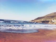 En losu angeles playa Obrazy Royalty Free