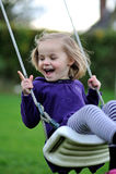 En lycklig flicka Arkivfoton