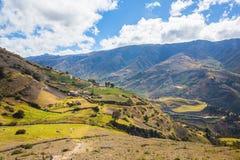 En Mérida de montagnes andes venezuela Images libres de droits