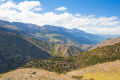 En Mérida de montagnes andes venezuela Images stock