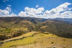 En Mérida de montagnes andes venezuela Photos libres de droits