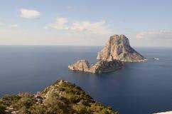 En mítico Ibiza del EsVedrà de la isla Imágenes de archivo libres de regalías