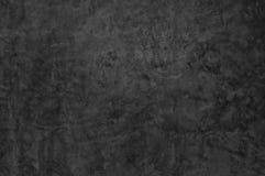 En mörk betongväggtextur för bakgrund Royaltyfri Bild
