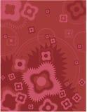 En mörk rosa bakgrund Royaltyfri Illustrationer