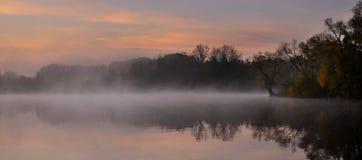 En magisk morgon Arkivbild
