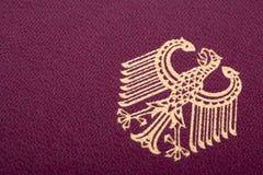 Tysk vapensköld Arkivfoto
