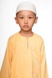 Gullig Muslimpojke Arkivbild