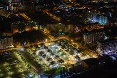 En marknad i den Pattaya staden royaltyfria foton