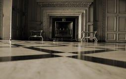 En marmorspis Arkivfoton